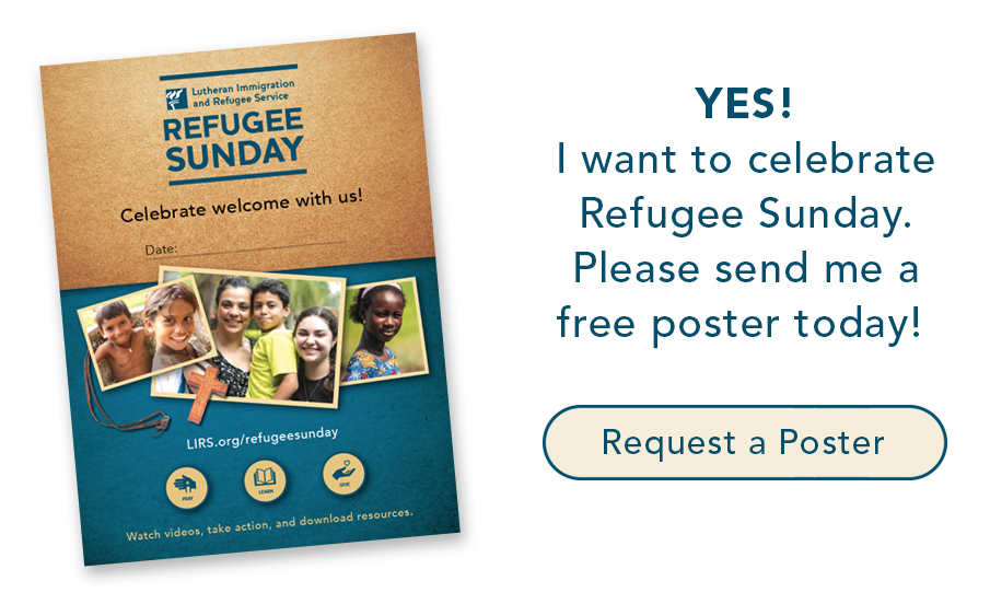 Refugee Sunday Poster